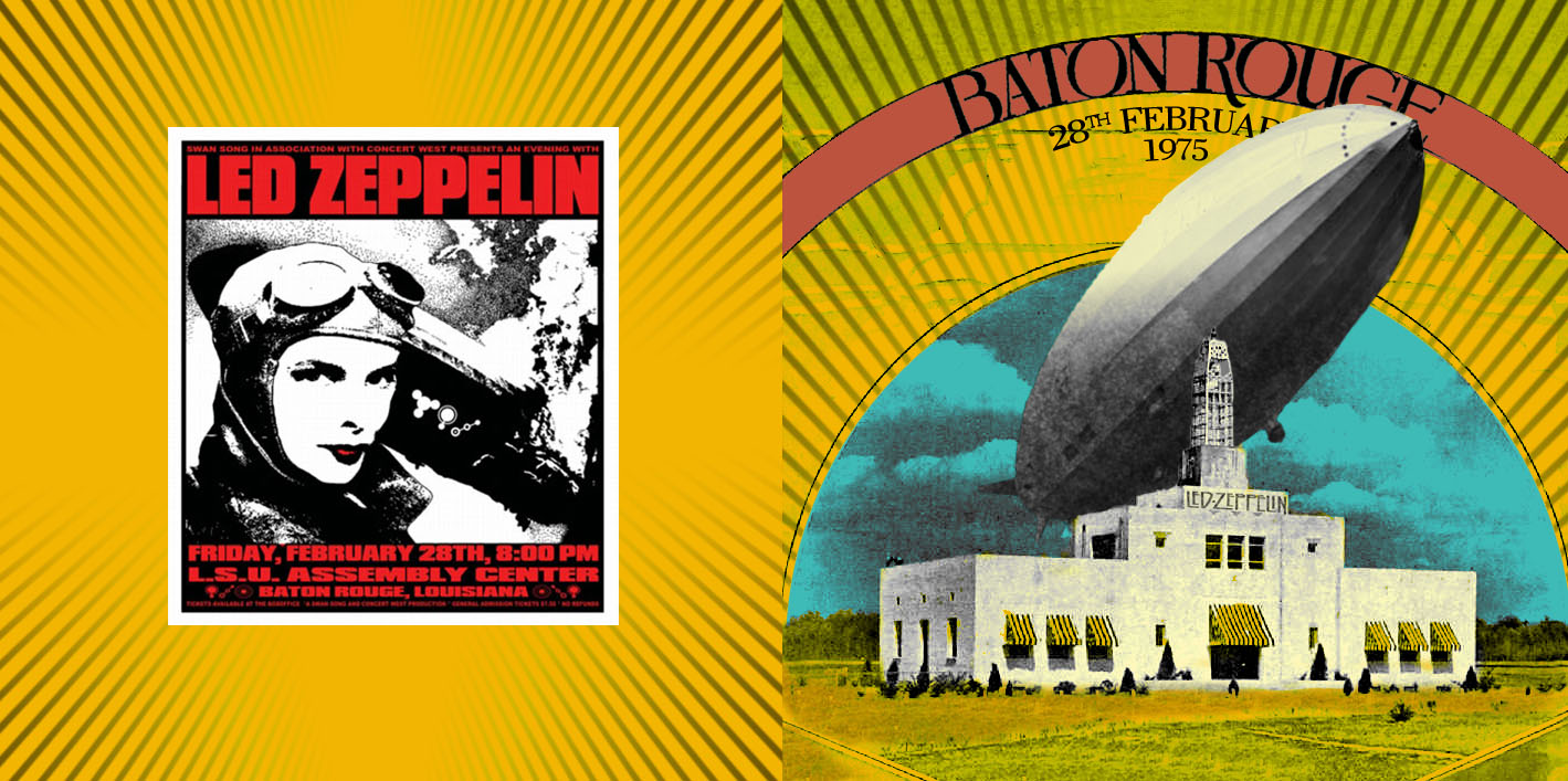Led Zeppelin Baton Rouge