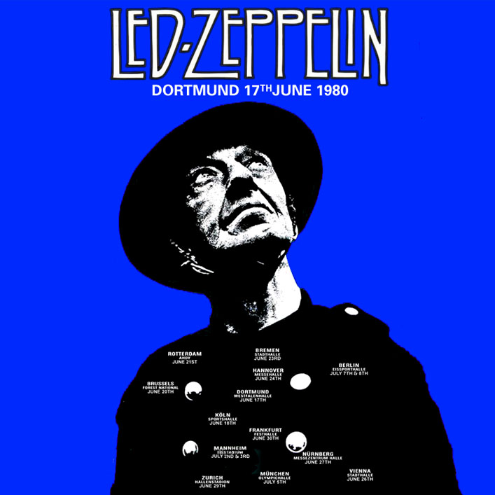led zeppelin dortmund 1980