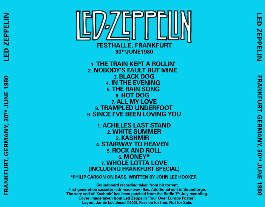 led zeppelin frankfurt 1980