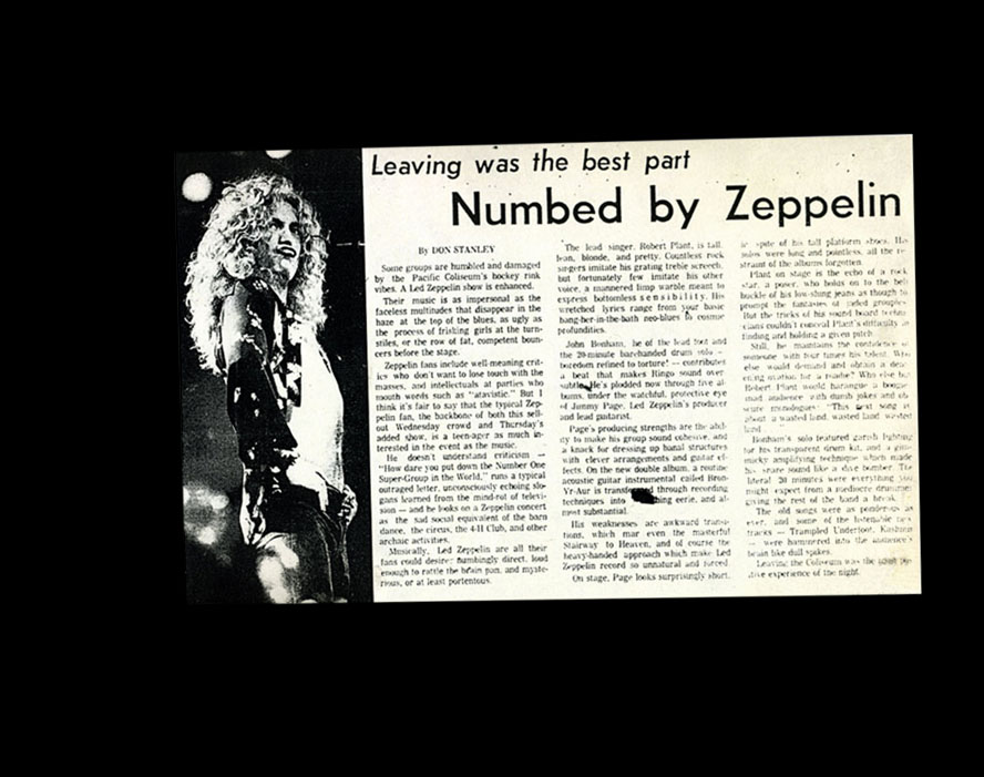 led zeppelin vancouver 75