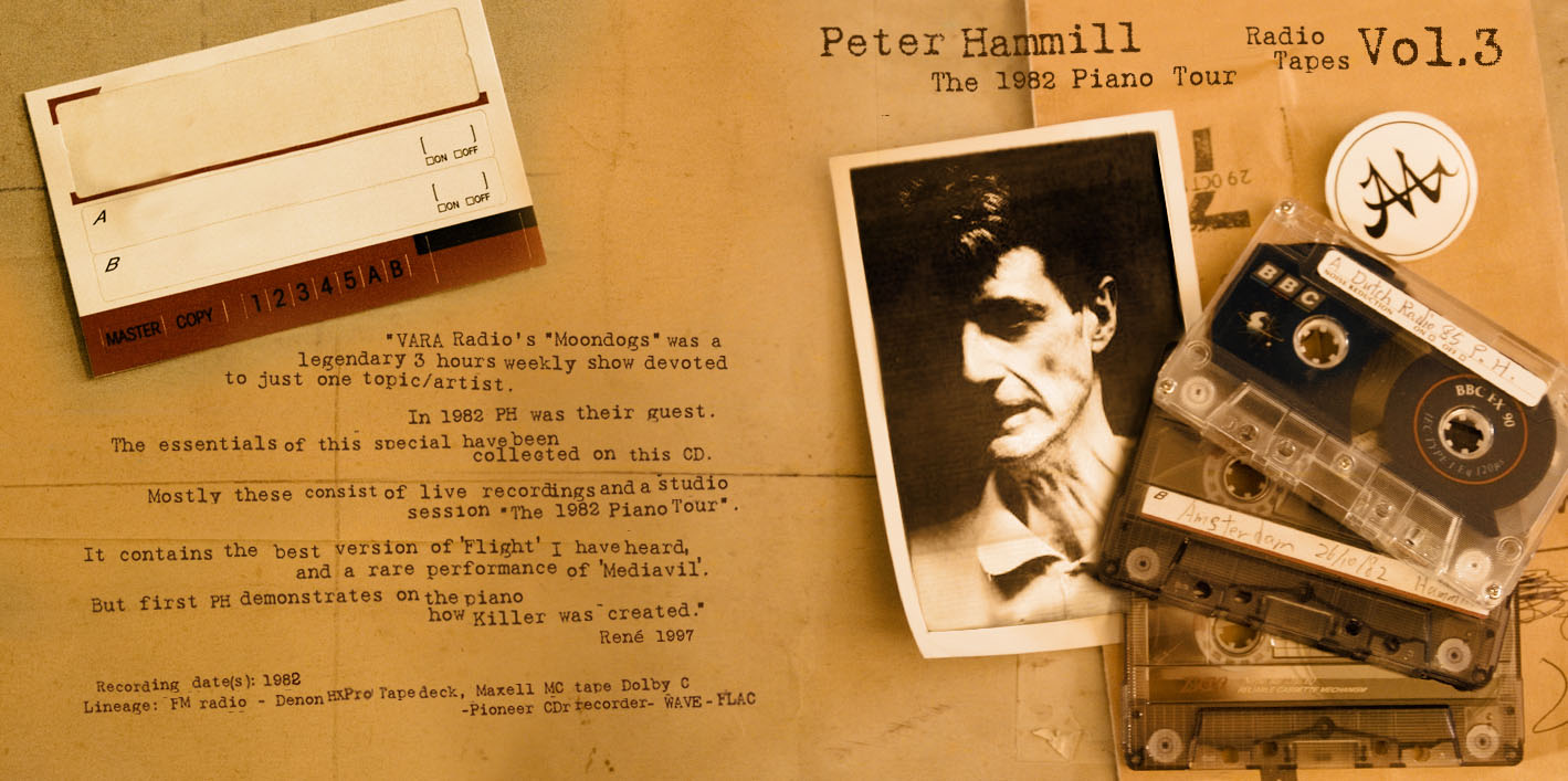 peter hammill radio tapes vol3